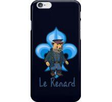 Le Renard iPhone Case/Skin