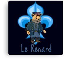 Le Renard Canvas Print