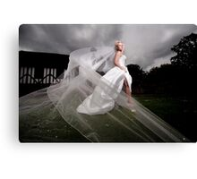 Bridal Shoot Canvas Print