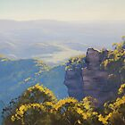 Katoomba Cliffs by Graham Gercken