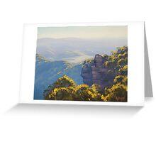 Katoomba Cliffs Greeting Card