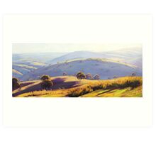 Megalong Valley Art Print