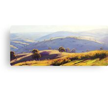 Megalong Valley Canvas Print