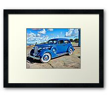 Packard 1937 120C Framed Print