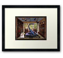 Reading will change your world Framed Print