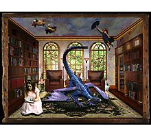 Reading will change your world Photographic Print
