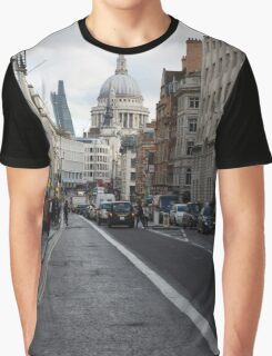 St Pauls Cathedral in London Graphic T-Shirt