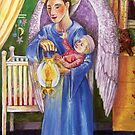 Angel comfort in the nursery by didielicious