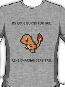 Charmander Pick Up Line T-Shirt