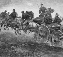 Going Into Battle -- Civil War Sticker