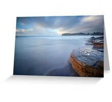 The Streak - Newport NSW Greeting Card