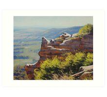Lithgow Landscape Art Print