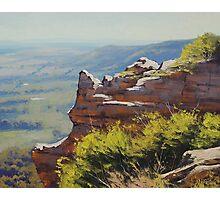 Lithgow Landscape Photographic Print