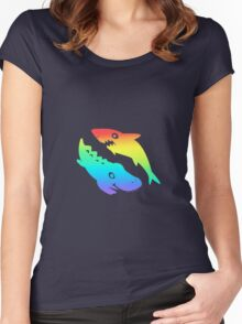 Shark Women's Fitted Scoop T-Shirt