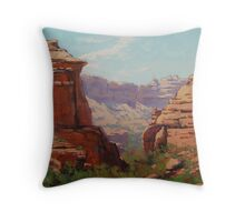 Canyon Corner Throw Pillow