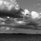 stony point cloudy skies 001 by Karl David Hill