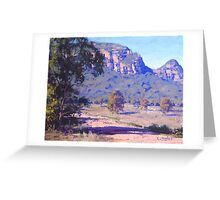 Capertee Valley, nsw Australia Greeting Card
