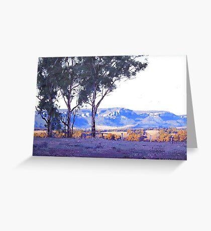 Afternoon Light Turon Gates Greeting Card