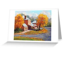 Autumn Historic Carcor Greeting Card