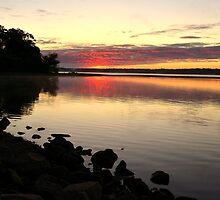 Sunrise at LaDue Reservoir  by jdgeier