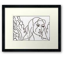 Intuition And Transformation Ignited Framed Print