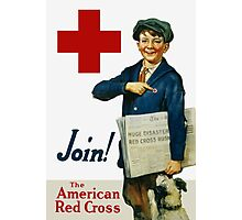 Join The American Red Cross Photographic Print