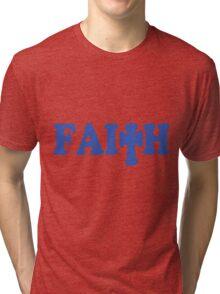 Faith Tee Shirt Tri-blend T-Shirt