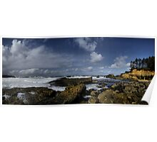 Boiler Bay Oregon Coast Poster