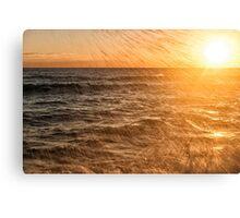 Sea Spray Sunrise Canvas Print