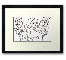 Ethereal Solitude Framed Print