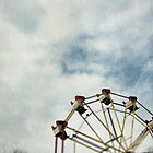 Ferris wheel at a funfair by Sharonroseart