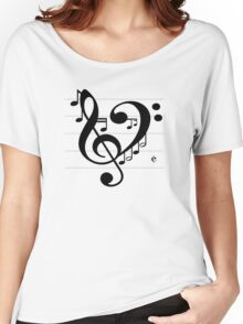 Love Music II Women's Relaxed Fit T-Shirt