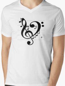 Love Music II Mens V-Neck T-Shirt