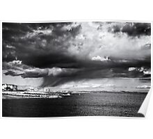 rain clouds.. Poster