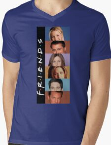 Friends Mens V-Neck T-Shirt