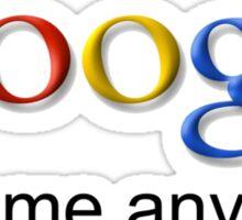 I am Google. Sticker