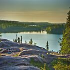 Blachford Lake Sunrise by Yukondick
