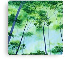 Glorious Green Canvas Print