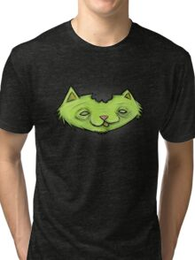 Zombie Kitty  Tri-blend T-Shirt