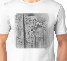 Faded Books - Antiek  Unisex T-Shirt