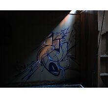 A ray of graffiti Photographic Print