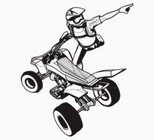 Quad-bike sketch One Piece - Long Sleeve