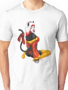 Geisha Kitty Pinup Unisex T-Shirt