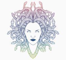Medusa (colors) Kids Tee