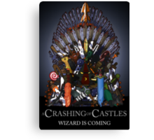 A Crashing Of Castles - Prints and Posters Canvas Print