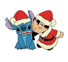 Christmas Lilo  and Stitch by LikeYou