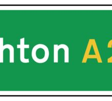 Brighton, Road Sign, UK  Sticker
