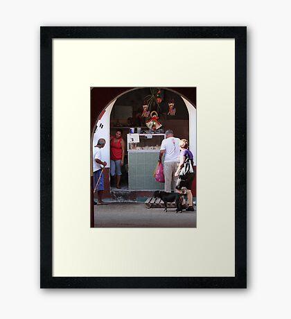 Market Impression - Impresión De Un Mercado Framed Print