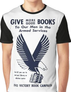 1943 Victory Book Campaign Graphic T-Shirt