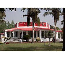 The Monty Millions restaurant in North India Photographic Print